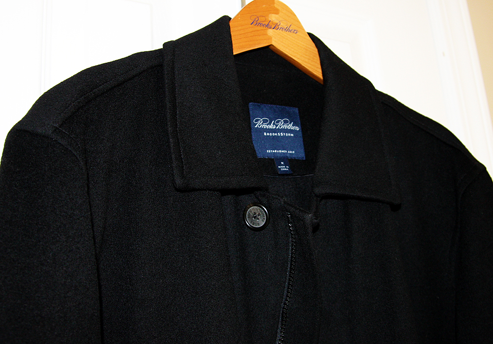 brooks brothers overcoat