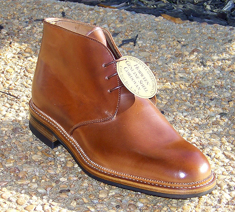 Neat Whiskey Shell Cordovan 187 Red Clay Soul