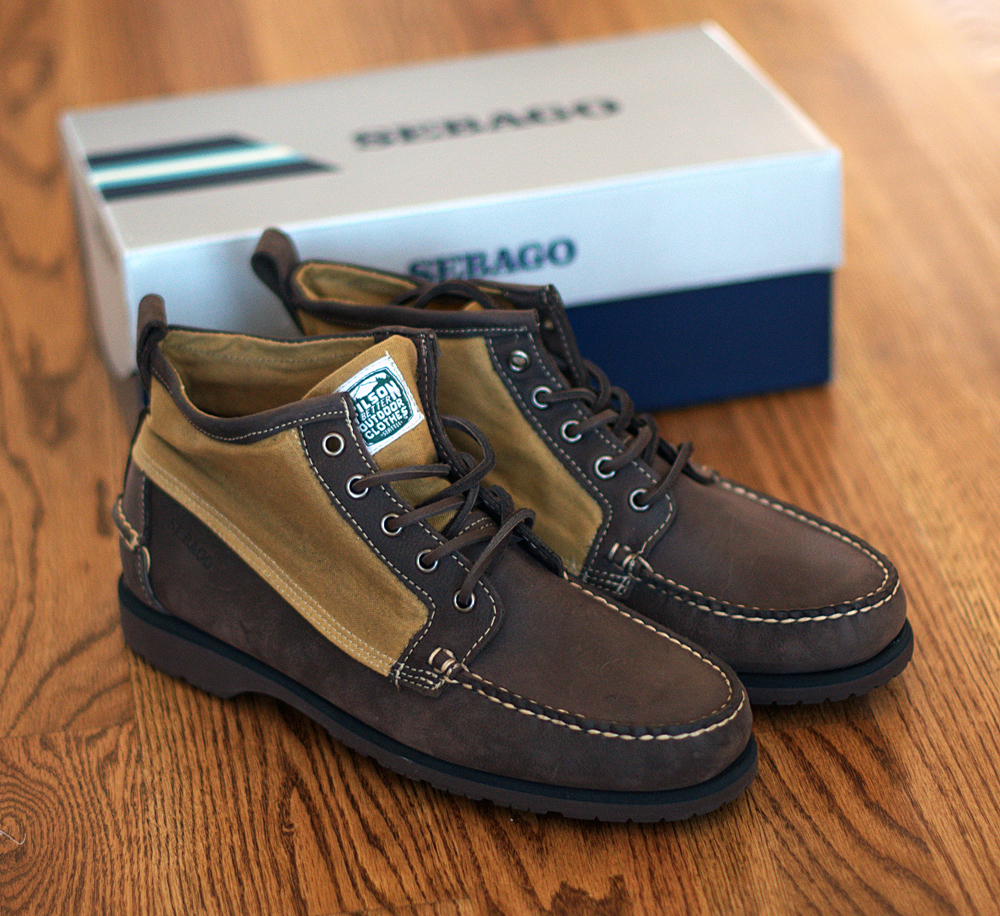 In Hand: Sebago x Filson Knight Boots