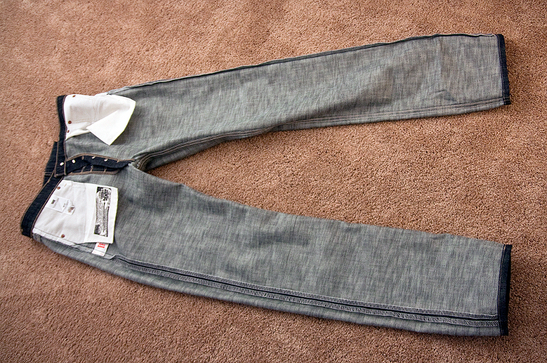 Lets Give It A Try The Tbtyh Levis Shrink To Fit Process Red
