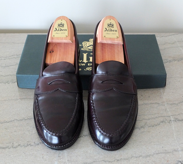 1de8f9572467d Back from a Tune Up  Alden for Brooks Brothers 986 Shell Cordovan ...