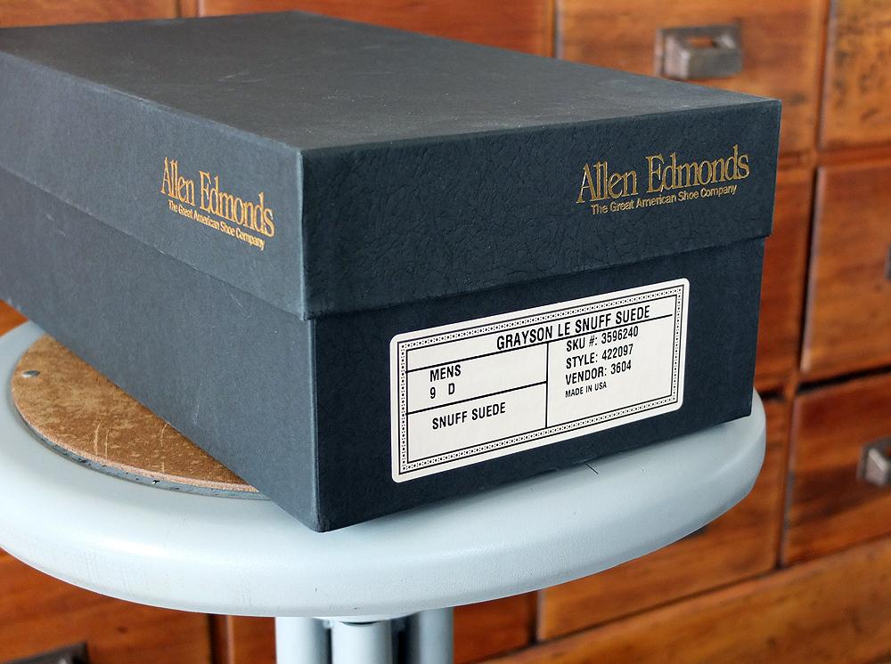 Acquired: Allen Edmonds X Land's End Snuff Suede Grayson Tassel Loafers