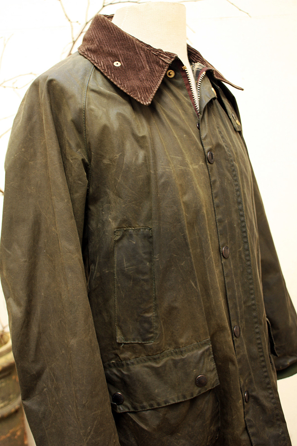 Rewaxing Barbour Waxed Cotton Jacket Mens