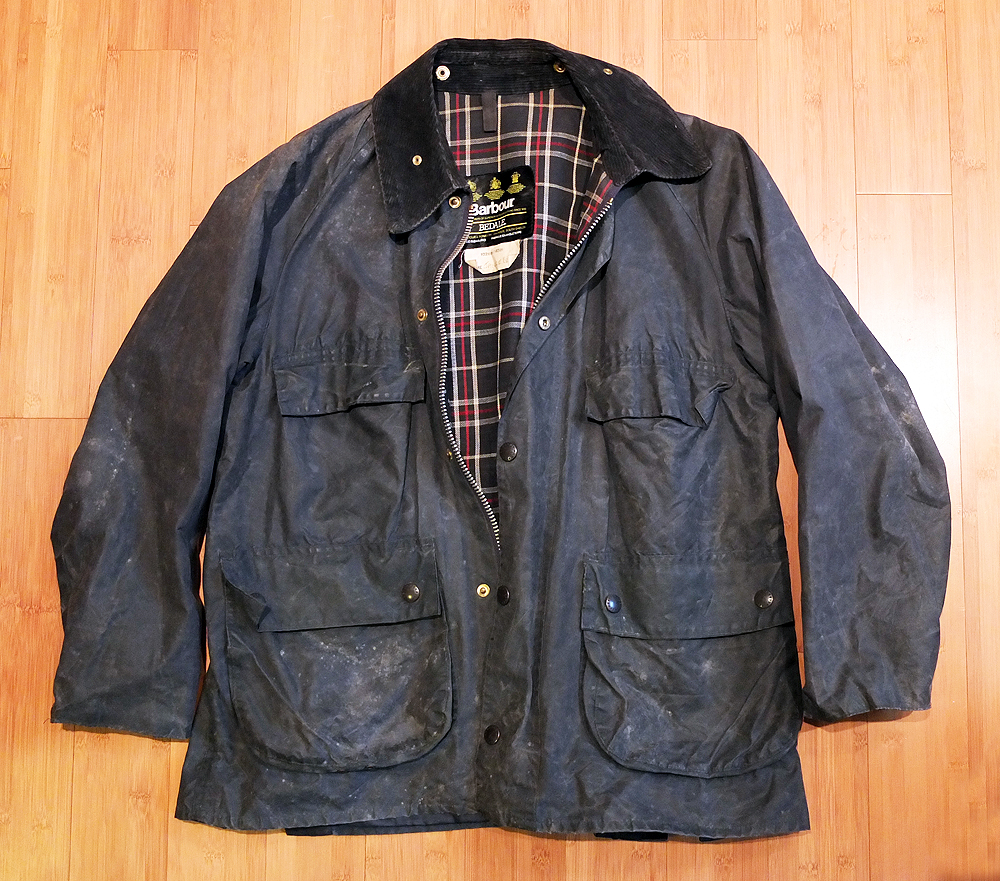 Before: The Vintage Barbour Bedale