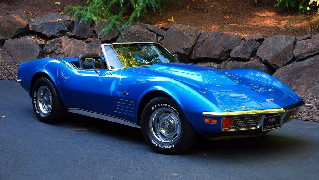 blue 1972 corvette stingray. Cars Review. Best American Auto & Cars Review