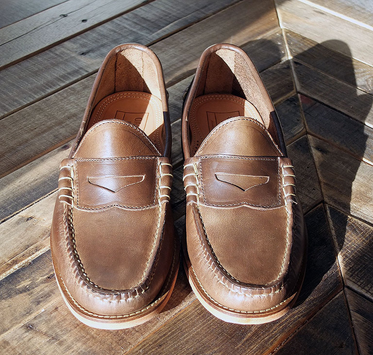 3ed201a1780 The first thing I noticed about the loafers was the high level of  craftsmanship. They are very sturdy