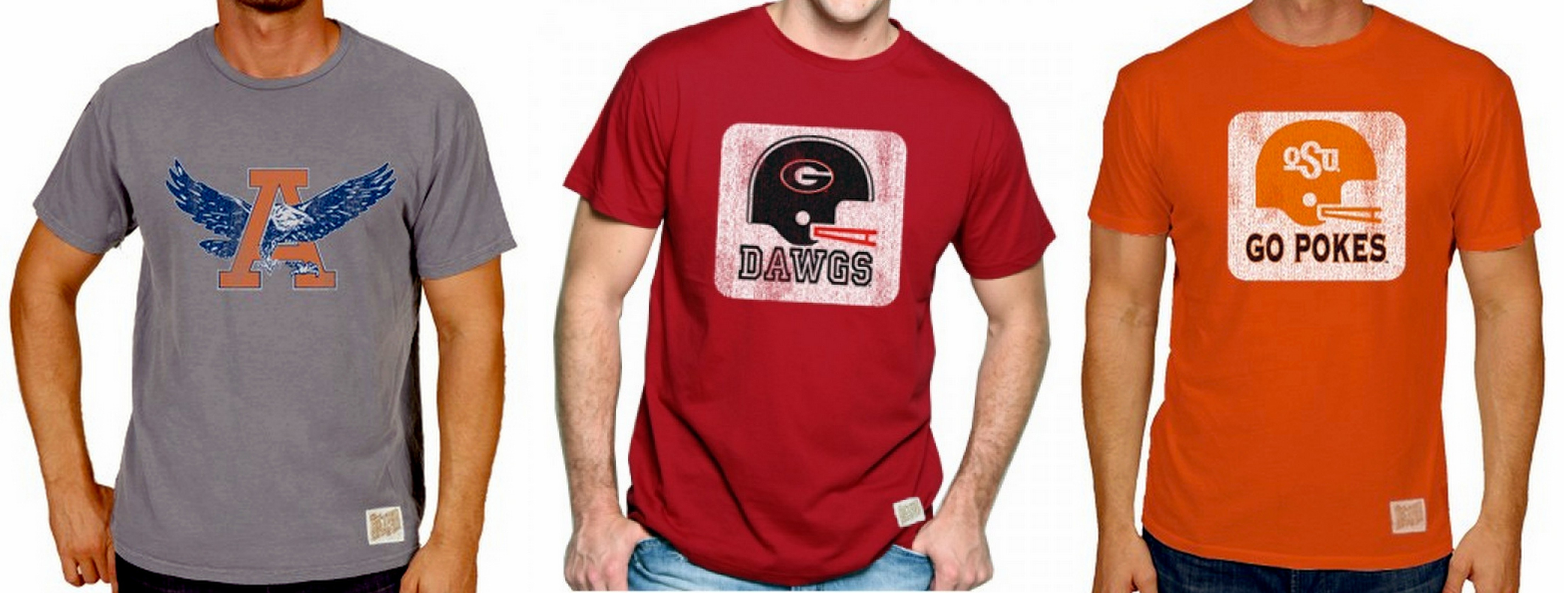ce6e6fbb Vintage College Football T-shirts » Red Clay Soul