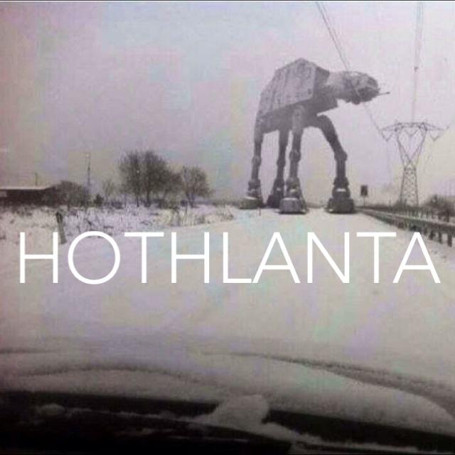 Atlanta + Snow