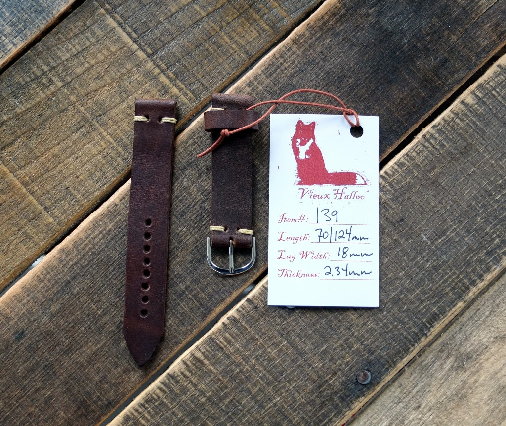 Allow Me To Introduce: Vieux Halloo Watch Straps