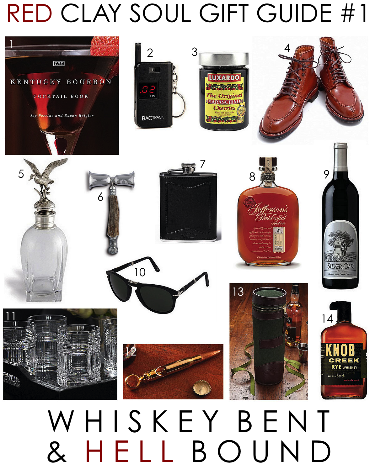 Red Clay Soul Gift Guide #1: Whiskey Bent & Hell Bound