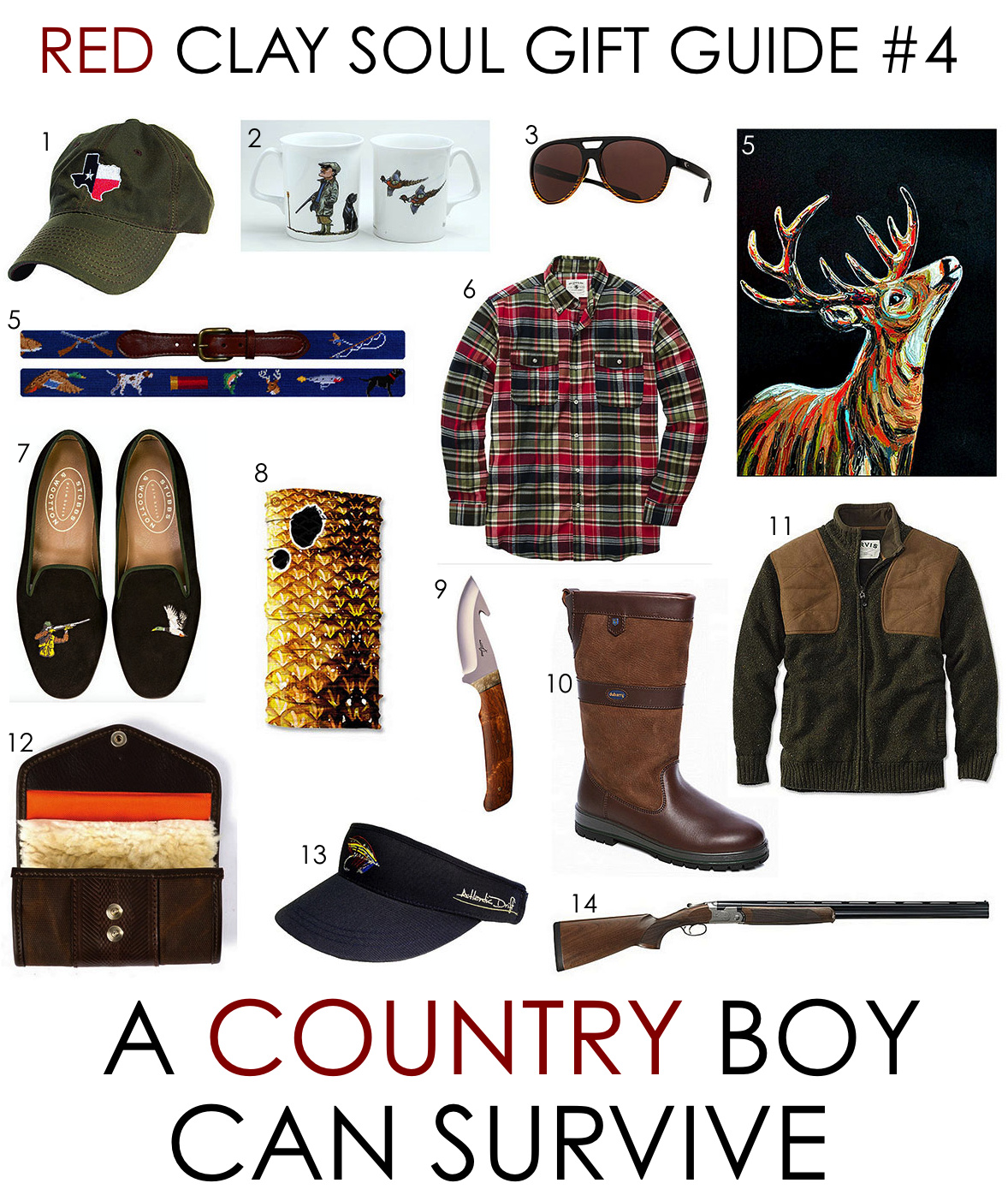 Red clay soul gift guide 4 a country boy can survive for Things to get a country boy for christmas