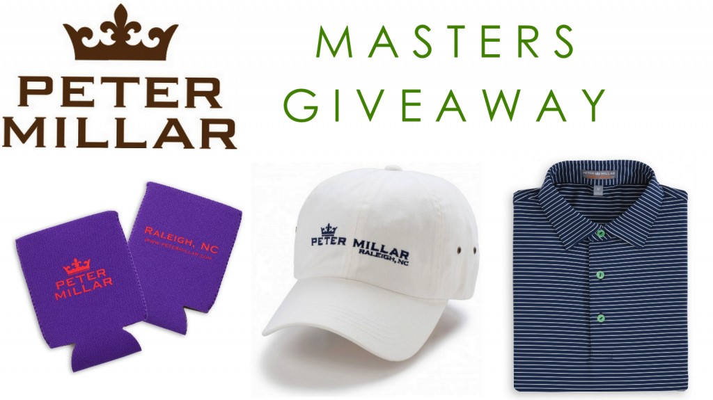 Peter Millar X Red Clay Soul Masters Giveaway