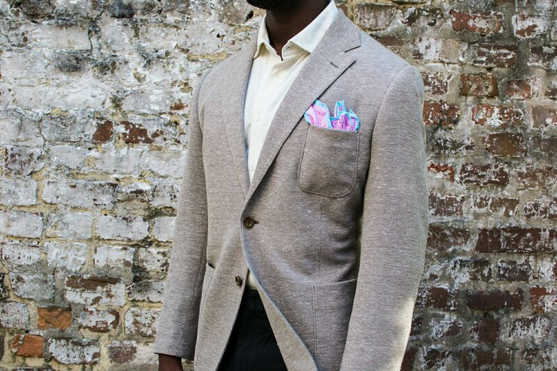 Lust: The Ike Behar Knit Blazer