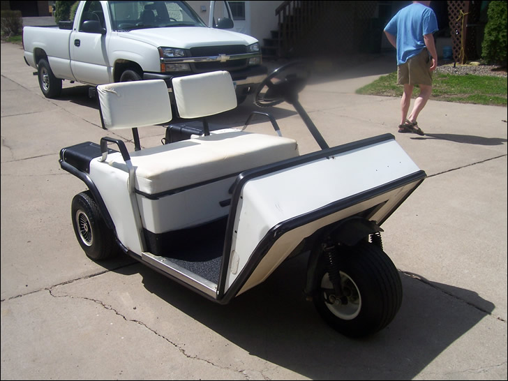Lust: A Three Wheeled Golf Cart