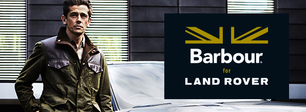 Barbour X Land Rover 2015 Collection
