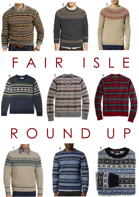 The Fair Isle Sweater(?) » Red Clay Soul