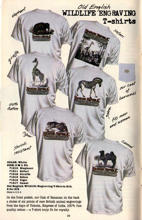 Vintage 90s Banana Republic Pocket Tees T Shirt