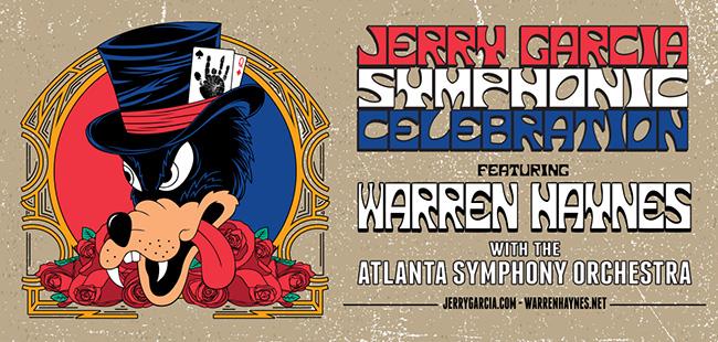 Tickets Secured: Jerry Garcia Symphonic Celebration Featuring Warren Haynes