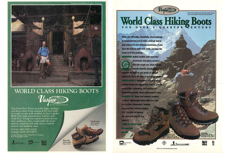 Vasque Boots Was Founded In 1965 By William Sweasy, But Wasnu0027t Called Vasque  (yet)u2026they Were Called Voyager Boots. The Boots Were Inspired By The  Italian ...