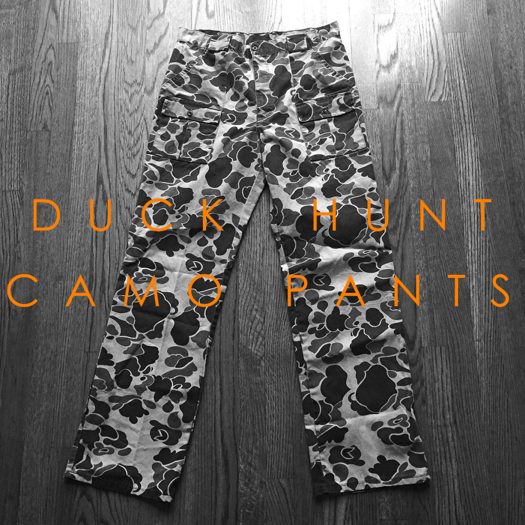 Reader Advice: Duck Hunt Camo Pants