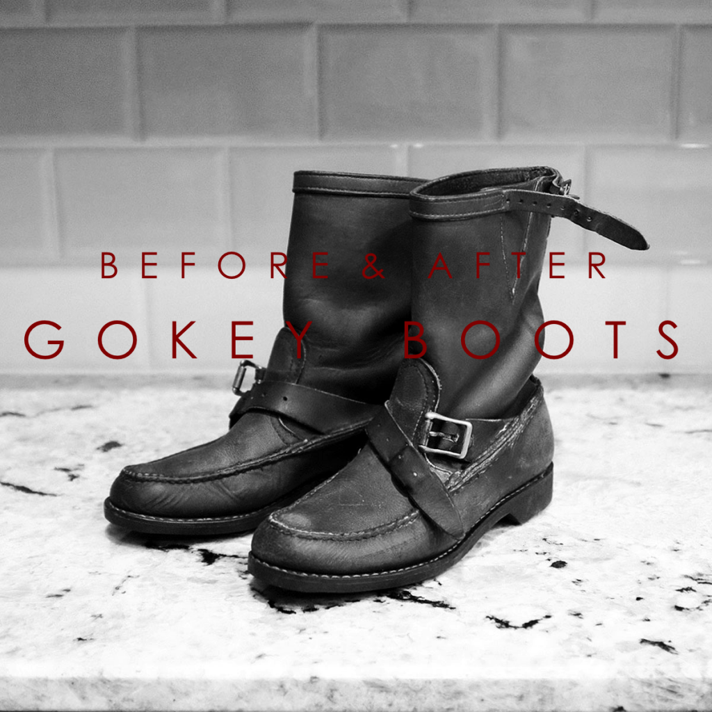 5005294a01f Before & After: Gokey Boot Restoration – Red Clay Soul