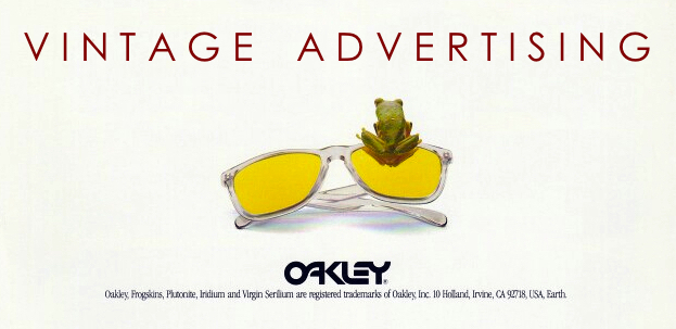 1000 Words: Vintage Oakley Advertising