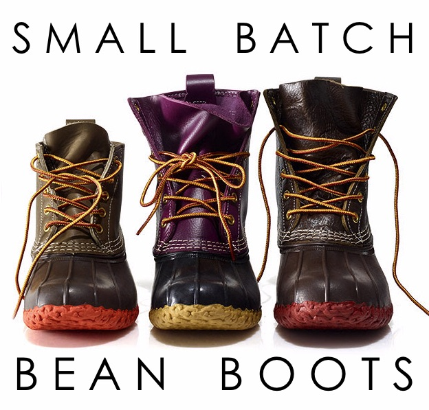 Small Batch Bean Boots