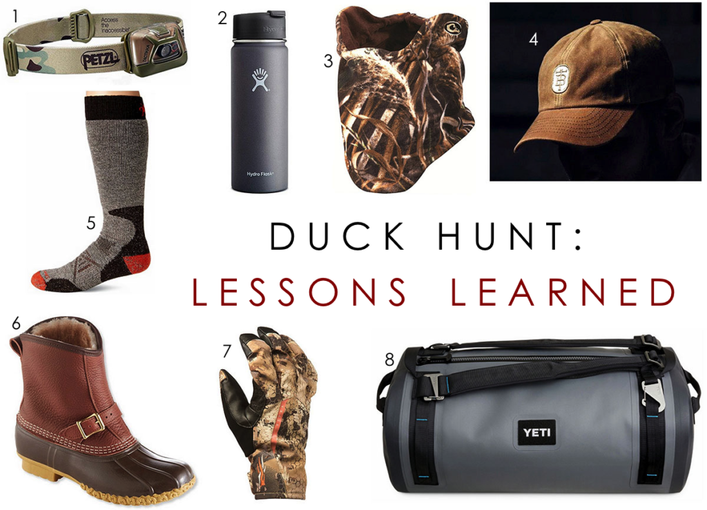 Duck Hunting: Lessons Learned