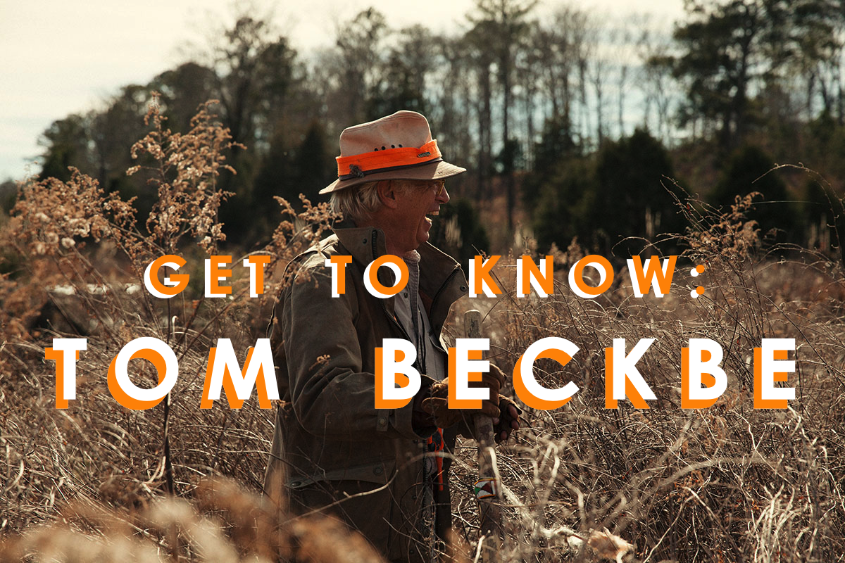Get to Know: Tom Beckbe