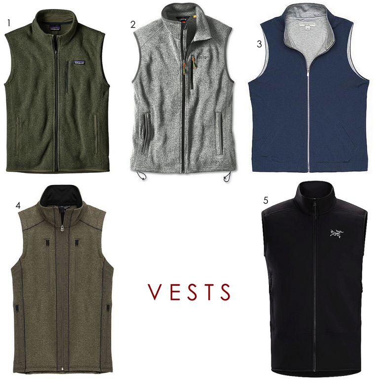 3281a1efd68b40 Patagonia Better Sweater  The standard bearer. These are the king of the  jungle. 2. Orvis Sweater Fleece Vest  A great option for the non-Patagonia  guy