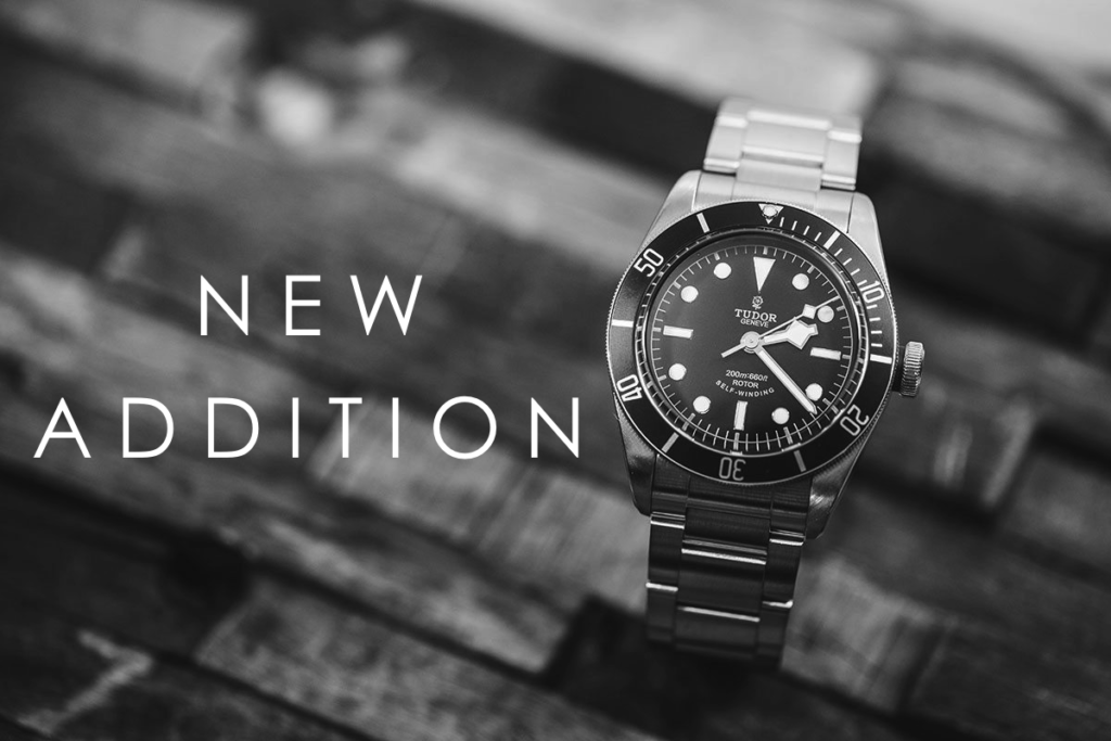New Addition: Tudor Black Bay Heritage