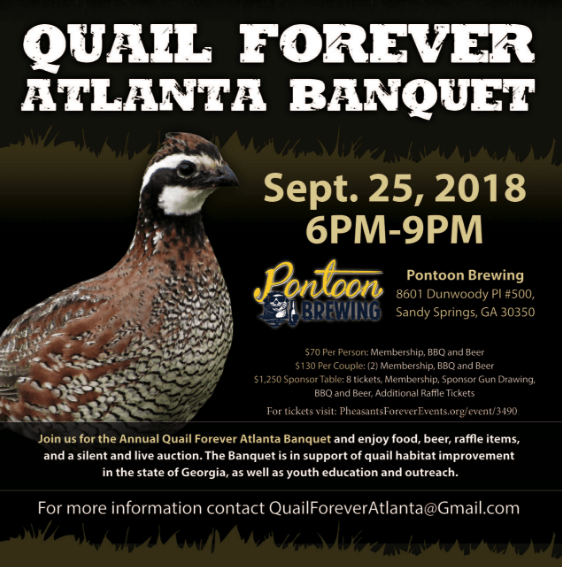 Quail Forever Atlanta Banquet – 9/25