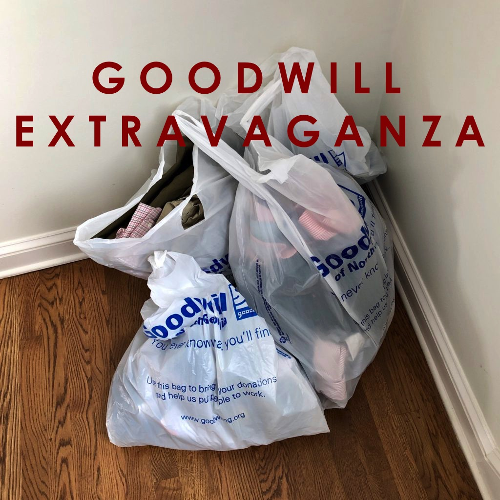 One Day Goodwill Extravaganza: The Results