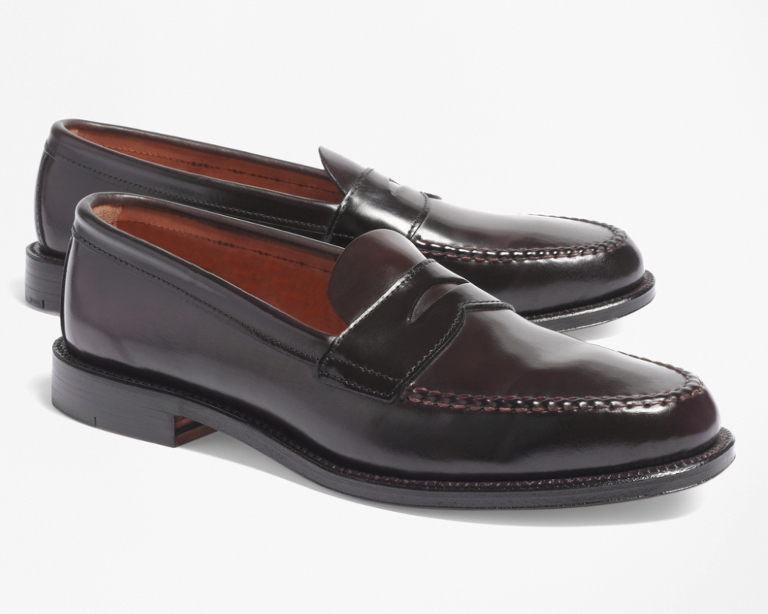 0a8e904187362 Brooks Brothers X Alden Shell Cordovan  The Break Up » Red Clay Soul