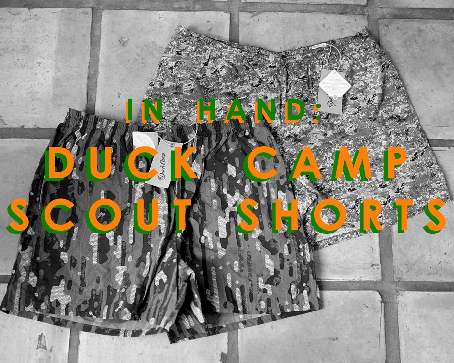 The Duck Camp Scout Shorts