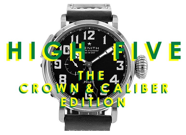 High Five: The Crown & Caliber Edition