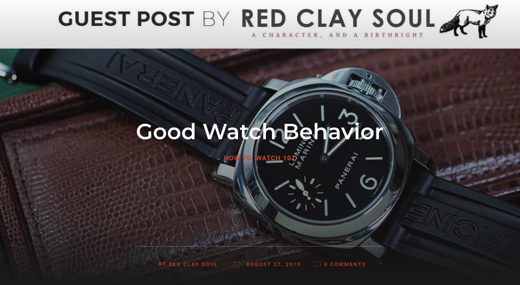 Good Watch Behavior