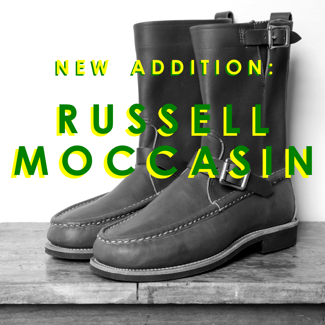 New Russell Moccasins