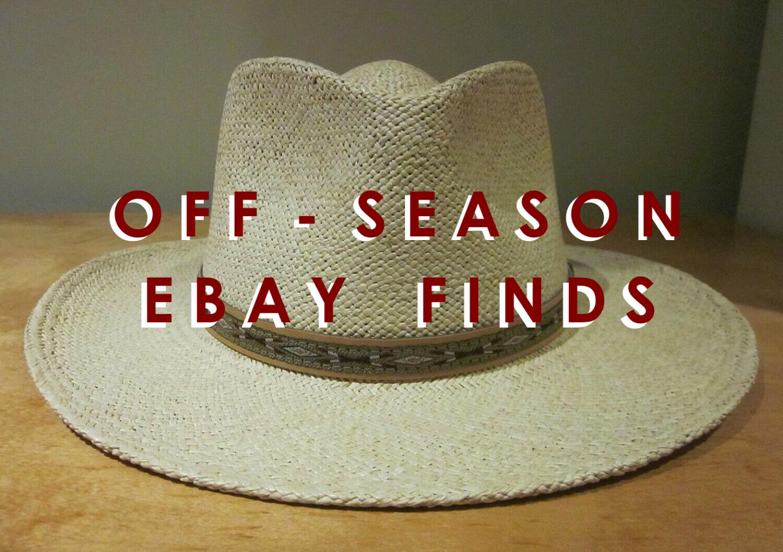 Winter 2020: Off Season Ebay Finds