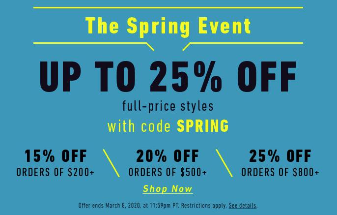 East Dane's Spring Event