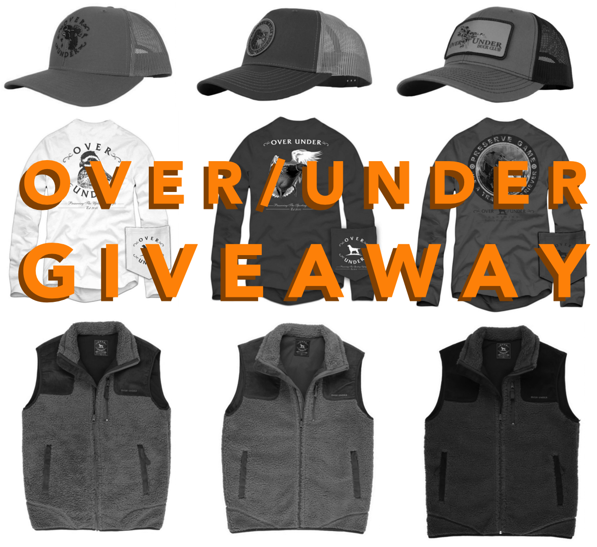 Over / Under Fall Giveaway