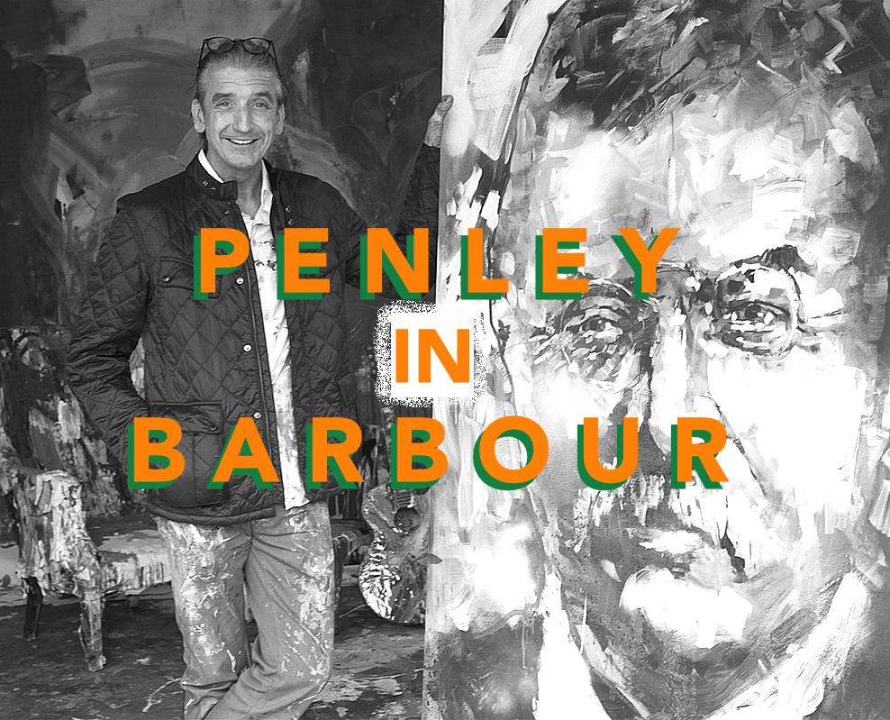 Penley In Barbour
