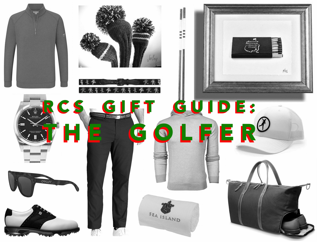 RCS Gift Guide #3: The Golfer